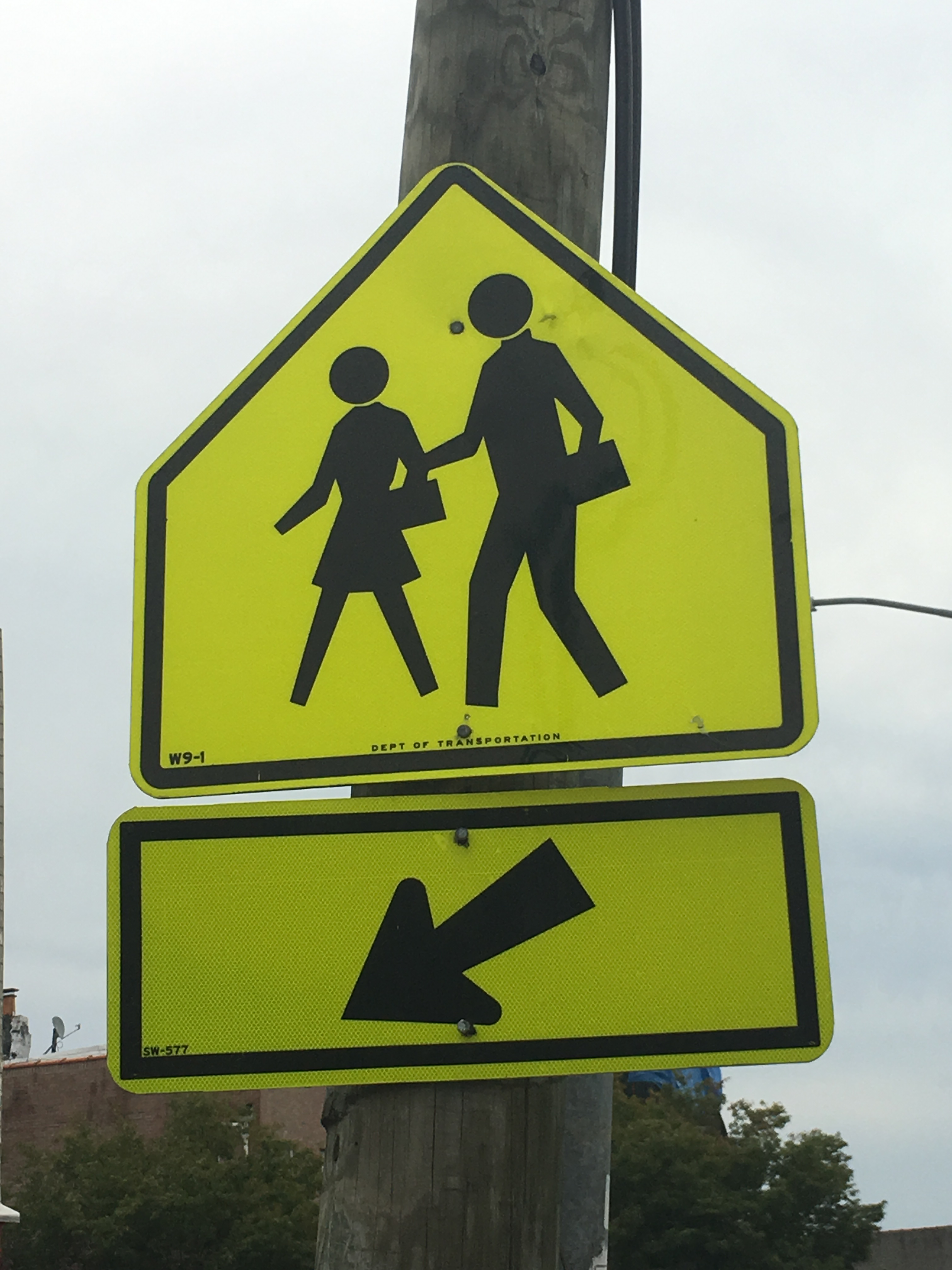 Student Crossing Here