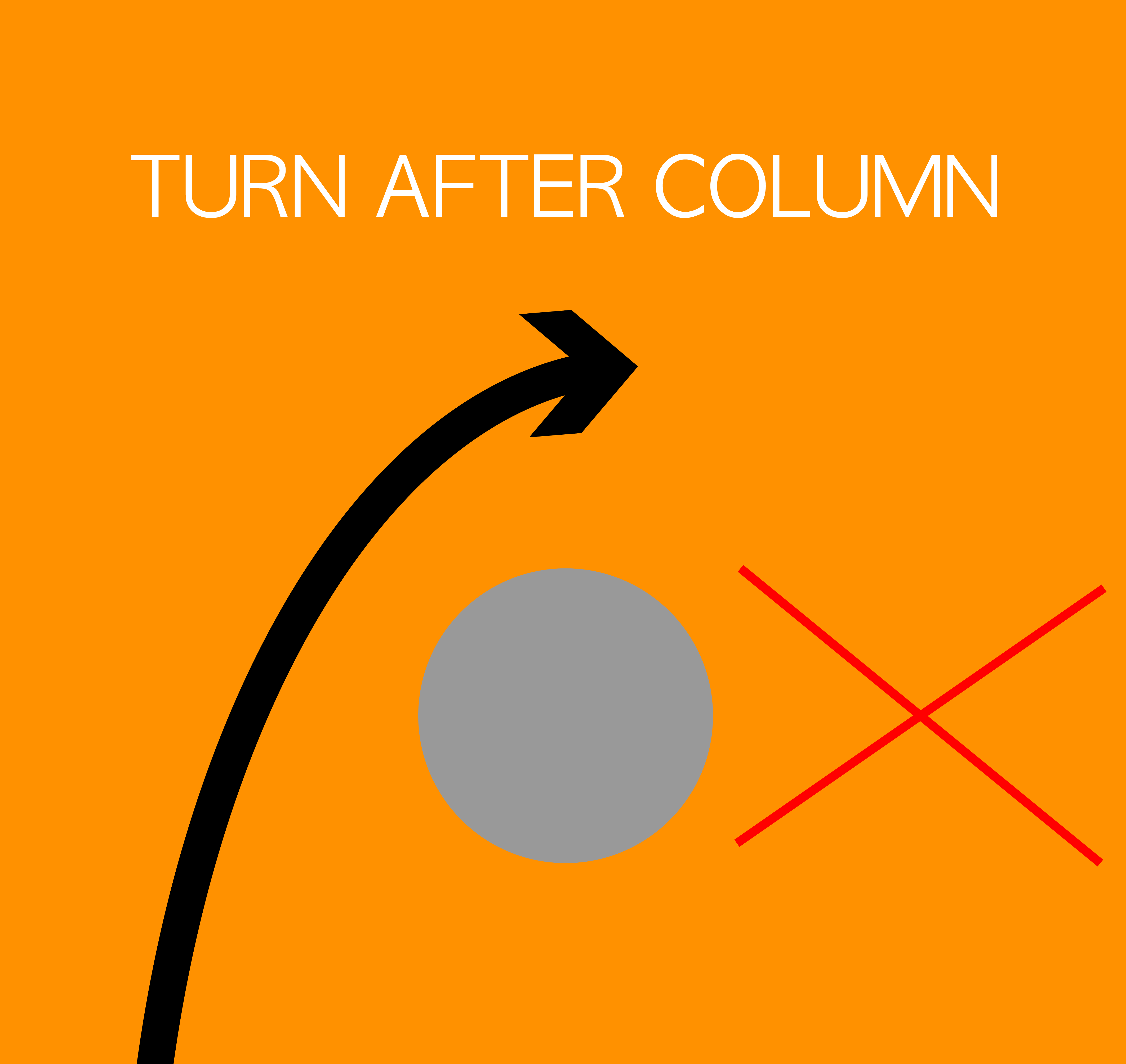 Go Around the Column!